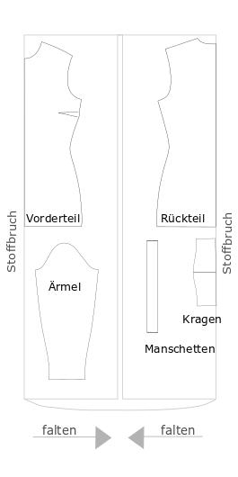 Faltanleitung eines Rollis - Pattarina