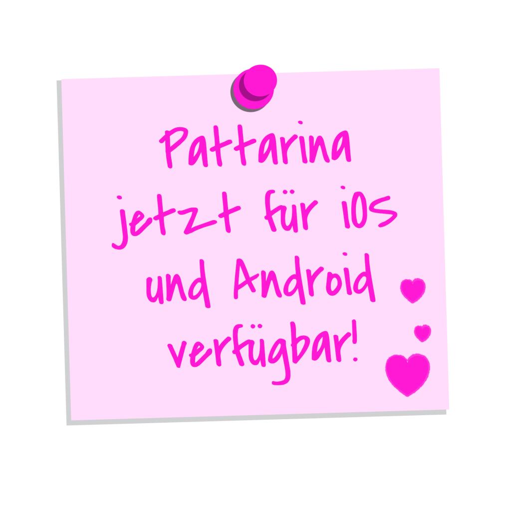 Pattarina, die Schnittmuster-App jetzt für iOS und Android verfügbar