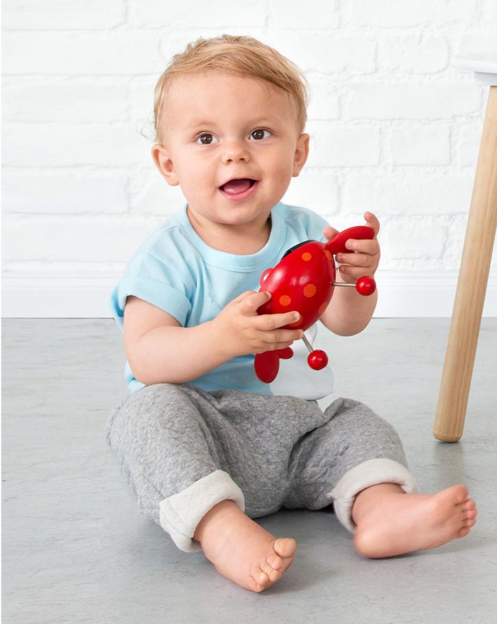 Ganz einfache Hose für Babies nähen - Burda und Pattarina